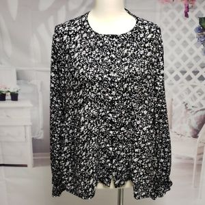 LUCKY BRAND NWOT BUTTON UP BLOUSE